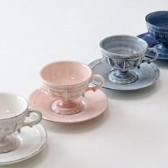 포르투갈 수입 그릇 어거스타 머그컵 커피컵