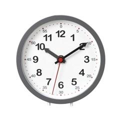 저소음 교육용 시계공부 탁상시계(블랙) 벽시계 겸용