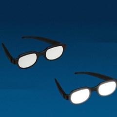 빛나는 코난안경 LED 선글라스 발광 안경