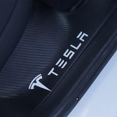 테슬라 모델3 도어 페달 보호 스트립 카본 커버