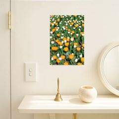 빈티지감성 홈카페인테리어 포스터 Tulip A4
