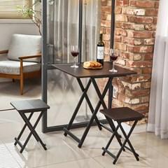까사마루 오드리 접이식 테이블 SET 600