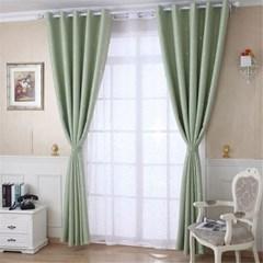 작은별 패턴 아이방 컬러 아일렛 암막 커튼 거실 창문