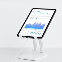 높이조절 태블릿 아이패드 거치대 스탠드 2종 TRENIT 휴대용 접이식