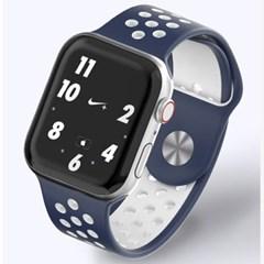 애플워치 7 6 5 4 3 2 SE 스포츠 실리콘 솔로루프 스트랩(5Color)