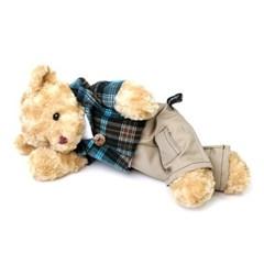 신체크후드 테디베어-남자곰(대형-브라운)