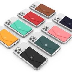 K 버핏 마그네틱 커버 카드지갑포켓 스마트폰 카드 지갑