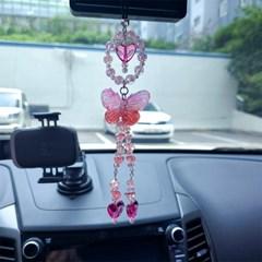 차량용 룸미러걸이 나비비즈 악세사리 2Color