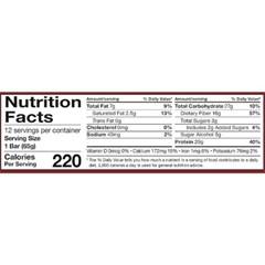 핏펙터 체중관리 밀키트 단백질바 12개