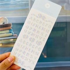 Pastel Alphabet Sticker