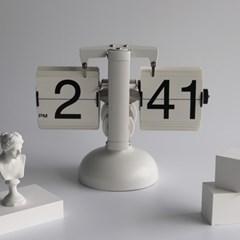유니크 아날로그시계 플립시계 탁상시계