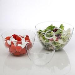 베이킹 믹싱볼 3P세트 그릇 샐러드 내열유리 냉동용기 팥빙수