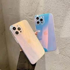 아이폰12 / 아이폰12 프로용 홀로그램 아이폰 젤리 케이스