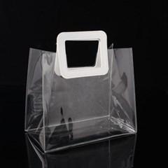 투명 PVC 토트백 2p(28x25cm)