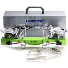휴브텍 휴대용가스렌지 트윈버너 HT-700