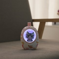고양이 우주캡슐 LED 보조배터리 10000mAh
