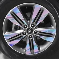 현대 뉴 투싼 IX 18인치 휠 스티커/ 1세트