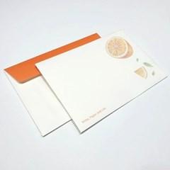 [앳원스]일러스트 무지엽서봉투 3종