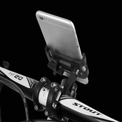 솔리드 자전거 스마트폰 거치대(블랙)