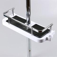 난간형 욕실 샤워기홀더 샤워기둥선반