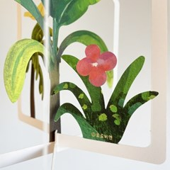 토도비엔 모빌- 공중 정원 (새 식물 인테리어 소품 힐링템)