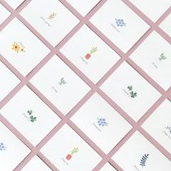 데이바이데이 카드 - Little garden