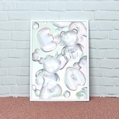 COVY BUBBLE WORLD-GREEN(포스터-A2)