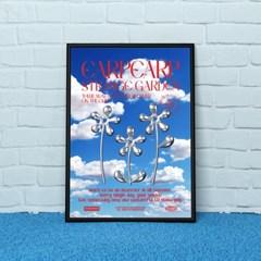 STEEL FLOWER-RED(포스터-A2)