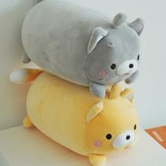 변신 고양이 목베개 목쿠션 인형 2color [기내용 여행용 목배게]