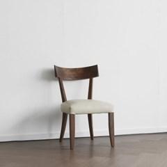 [헤리티지월넛] B형 의자 아이보리
