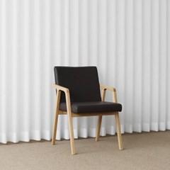 [오크] AQ형 의자 딥브라운