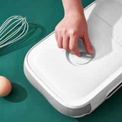 에그박스 자동정리 20구 계란케이스(화이트)