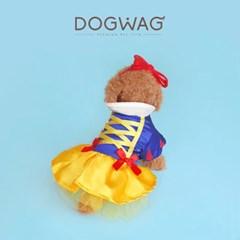 도그웨그 백설공주 코스튬 강아지 할로윈 코스프레 고양이 옷