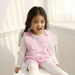 베이비앤아이 유아 수면조끼 유니콘