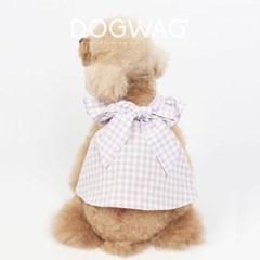 도그웨그 리본 캔디 민소매 원피스 강아지 여름 옷 나시