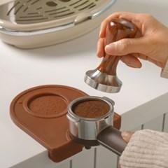 홈카페 용품 바리스타 템퍼 커피 실리콘 탬핑 매트