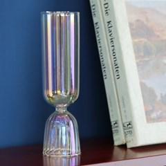 티니블랑 홀로그램 홈카페 유리컵 - 벨 오로라 샴페인글라스 200ml
