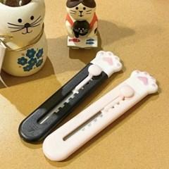 [수바코] 고양이 젤리발 미니 칼 3컬러