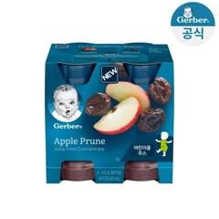 거버 주스 사과 푸룬 472ml