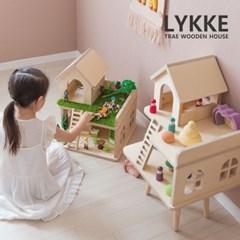 [꼬메모이] 트레 리케하우스 / 자작나무 원목 인형의집 장난감집