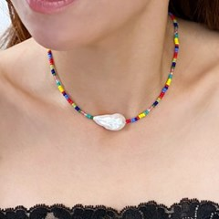 Mother of Pearl Multi Necklace