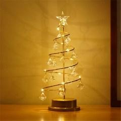 크리스마스 트리 크리스탈 LED 무드등 감성 조명