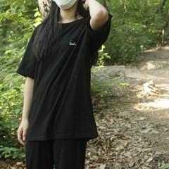 룰티셔츠 black