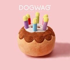 케이크 삑삑이 강아지 인형 소리나는 장난감