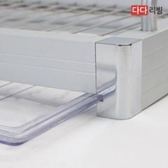 다다리빙 클리어 알미늄 식기건조대 600