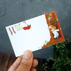 말괄량이 코코 메모 카드 12p 세트