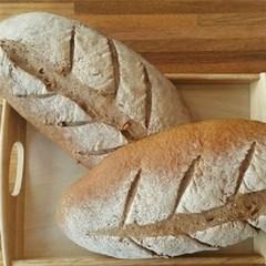 자연발효 통밀빵 뺑콩플레1kg 건강빵 무설탕비건빵