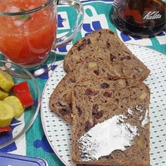 자연발효 통밀빵 크랜베리 샌드위치빵770g 비건식빵