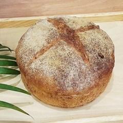 자연발효 통밀빵 시골빵 통밀깜빠뉴710g 건강비건빵