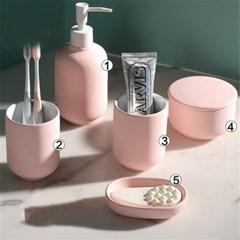 호텔 욕실 디스펜서 화장실 샴푸통 세제통 용품 J